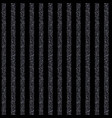 seamless background with stripes black shining vector image