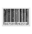 barcode 05 vector image vector image