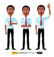 businessman is sad crying concept vector image