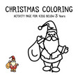 Christmas coloring actvity book for kids below 3