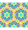Intricate Kaleidoscopic Seamless Pattern vector image