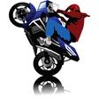 motorbike vector image vector image