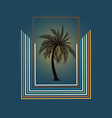 Palm Design vector image vector image