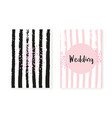 pink glitter sequins with dots wedding and bridal vector image vector image