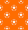 soccer ball pattern seamless vector image vector image