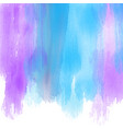 watercolour paint strokes background vector image vector image