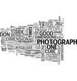 why don t i look good in pictures text word cloud vector image vector image