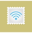 Wi-Fi stamp vector image vector image