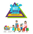 best offer premium price vector image