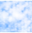 Cirrus clouds vector image vector image
