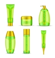 Cosmetic Packaging Set vector image vector image