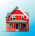 Family house vector image vector image
