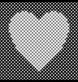 heart shaped background design from white vector image vector image