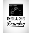 laundry service design vector image vector image