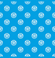 research molecule pattern seamless blue vector image vector image