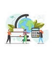 study concept flat style design vector image