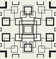 tangle squares seamless pattern vector image