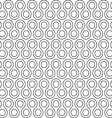 twist rounds seamless pattern vector image vector image