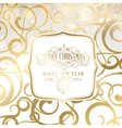 Abstract gold holiday background vector image
