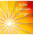 Sunbeam rays vector image