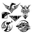 Dragon Symbols vector image vector image