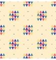 Geometric seamless pattern Ethnic textile minimal vector image vector image