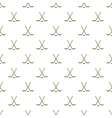 Hockey sticks and puck pattern cartoon style vector image vector image