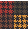 Houndstooth pattern vector | Price: 1 Credit (USD $1)