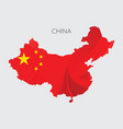map china vector image