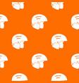 snowboard helmets pattern seamless vector image vector image