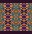 striped tribal vintage abstract geometric pattern vector image