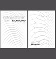 white abstract backgrounds with layers vector image vector image