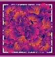 card bandana print kerchief design napkin dark vector image vector image
