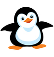cartoon penguin vector image vector image