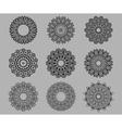 Circular ornate Celtic ornaments vector image vector image