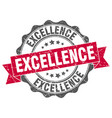 Excellence stamp sign seal