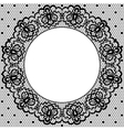 lace and napkin vector image vector image