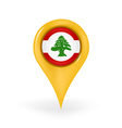 Location Lebanon vector image
