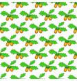 oak acorn pattern vector image vector image