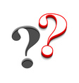 question marks icon design vector image