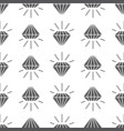 abstract grey seamless pattern with diamonds vector image vector image
