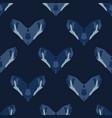 batik heart motif indonesian style seamless vector image