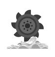 Hydro Power vector image vector image
