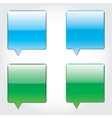 sms buttons vector image