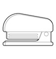 stapler icon outline style vector image