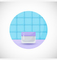 cosmetics product flat icon vector image vector image