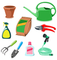 gardening equipment vector image