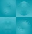 Halftone design vector image vector image