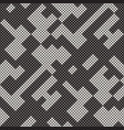modern stylish halftone texture endless abstract vector image vector image