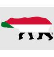 Sudan hippo vector image vector image